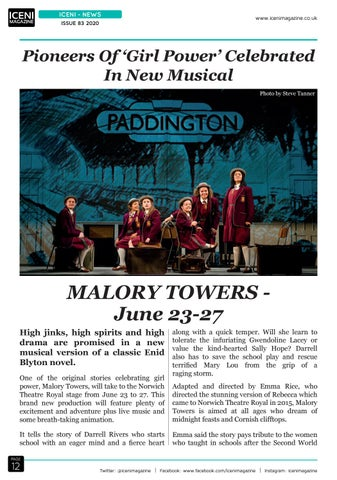 Page 12 of Iceni News New Musical
