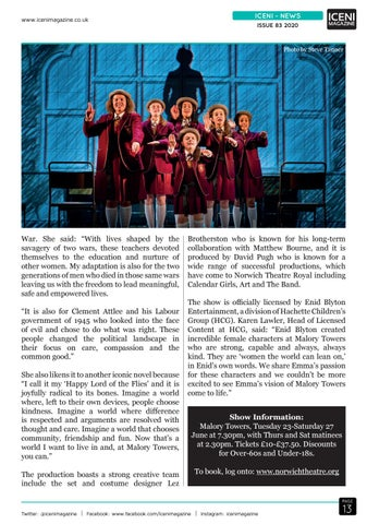 Page 13 of Iceni News New Musical