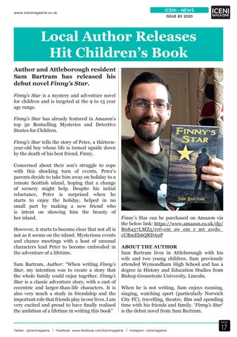 Page 17 of Iceni News Finny's Star