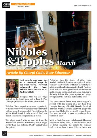 Page 28 of Nibbles And Tipples March