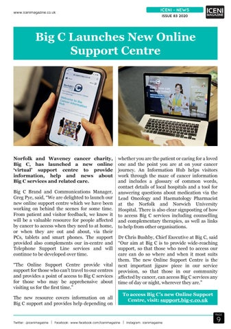 Page 9 of Iceni News Big C Launches