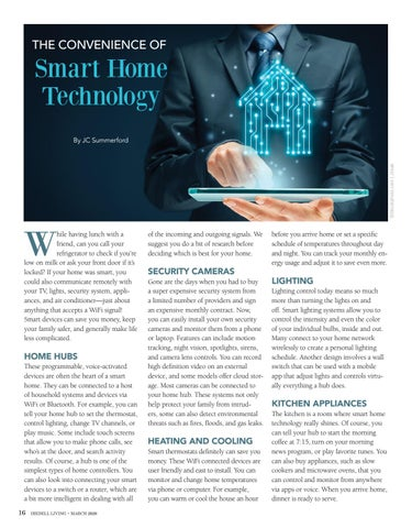 Page 16 of The Convenience of Smart Home Technology