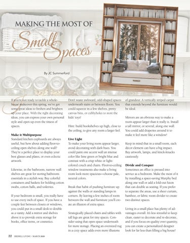 Page 22 of Making The Most Of Small Spaces