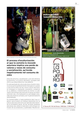 Page 15 of LA SIDRA AMENAZADA POR LA DEBACLE DEMOGRÁFICA ASTURIANA (3º PARTE