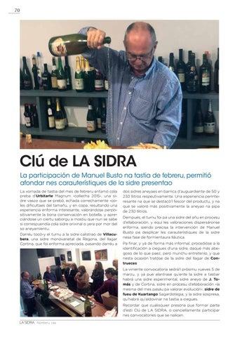 Page 70 of CLÚ DE LA SIDRA