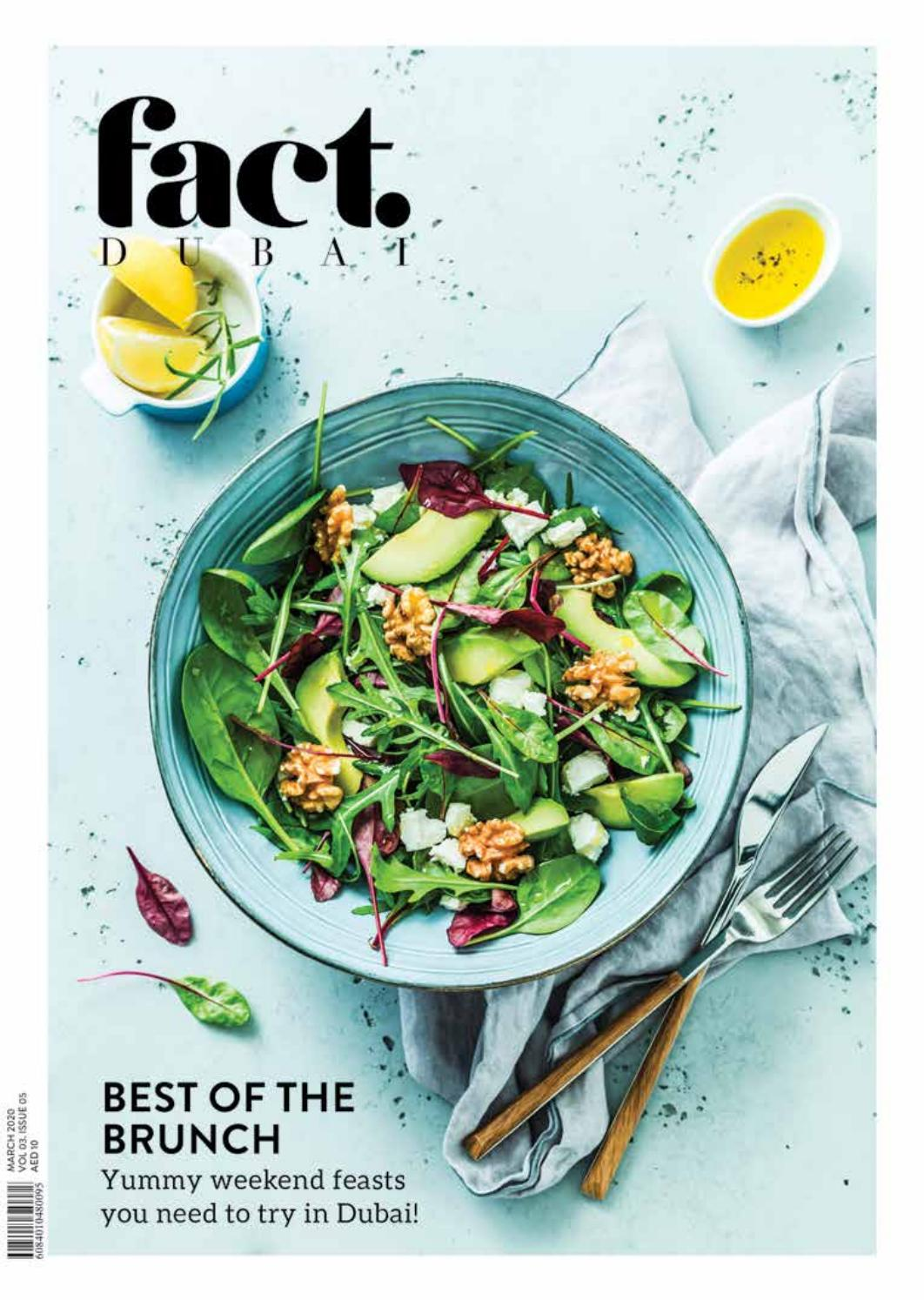 Fact Dubai March 2020 By Fact Magazine Issuu Located in solana beach our talented sushi chefs can prepare any roll, sashimi, special roll, noodles, soups or sauces. fact dubai march 2020 by fact magazine