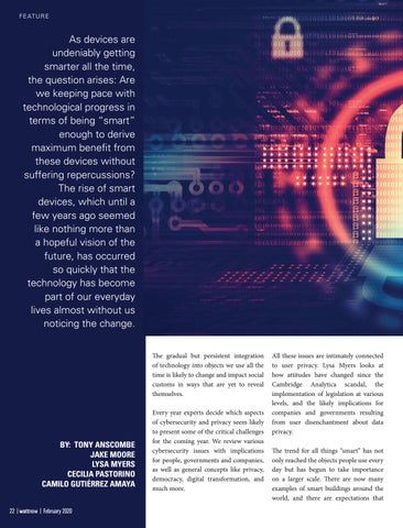 Page 22 of Cybersecurity Trends for 2020