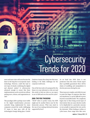 Page 23 of Cybersecurity Trends for 2020