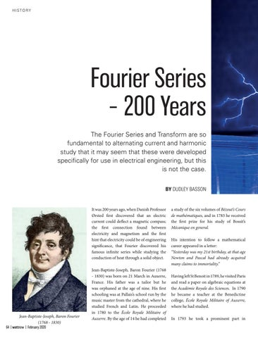 Page 64 of Fourier Series – 200 Years