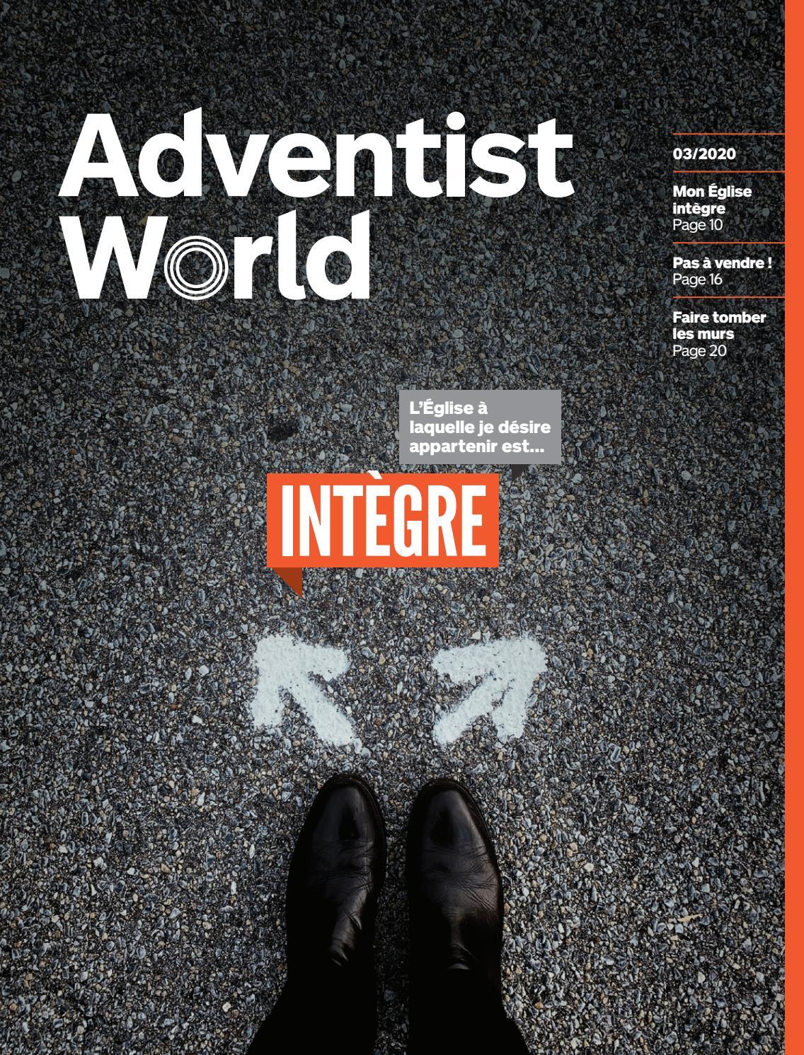 Les Moineaux De La Mariée adventist world french - march 2020adventist world
