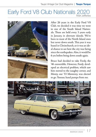 Page 17 of Early Ford V8 Club Nationals 2020
