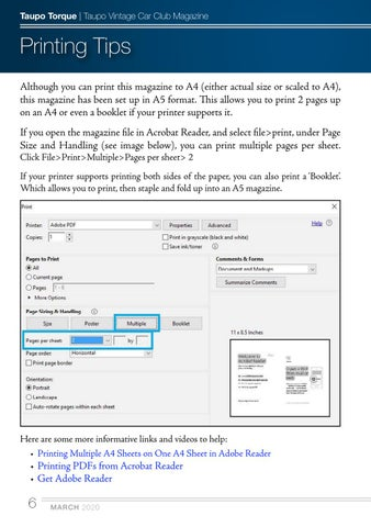 Page 6 of Printing Tips