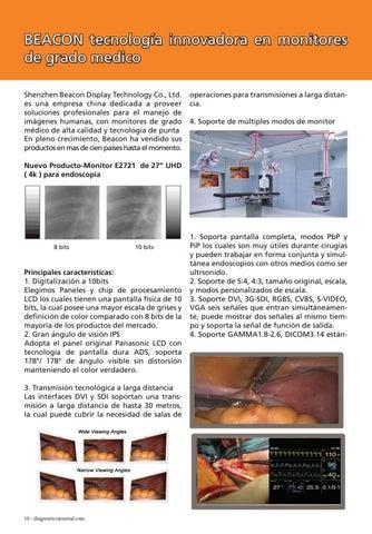 Page 10 of Beacon tecnología innovadora en monitores de grado medico