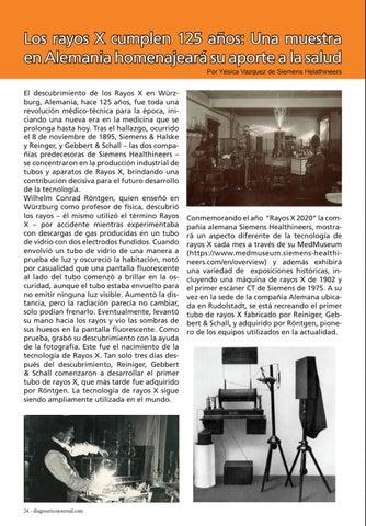 Page 24 of Los rayos X cumplen 125 años: Una muestra en Alemania homenajeará su aporte a la salud