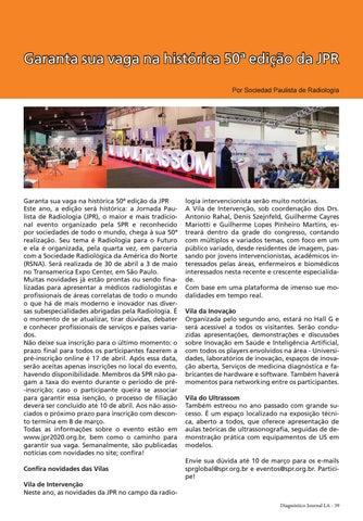 Page 39 of Garanta sua vaga na histórica 50 a ediÇão da JPR