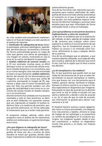 Page 9 of La Inteligencia Artificial llegó al Hospital Italiano