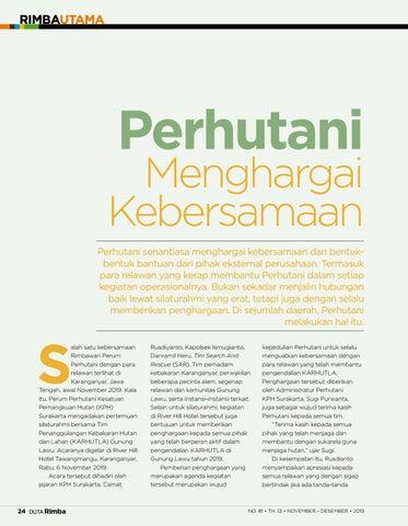 Page 26 of Perhutani Menghargai Kebersamaan