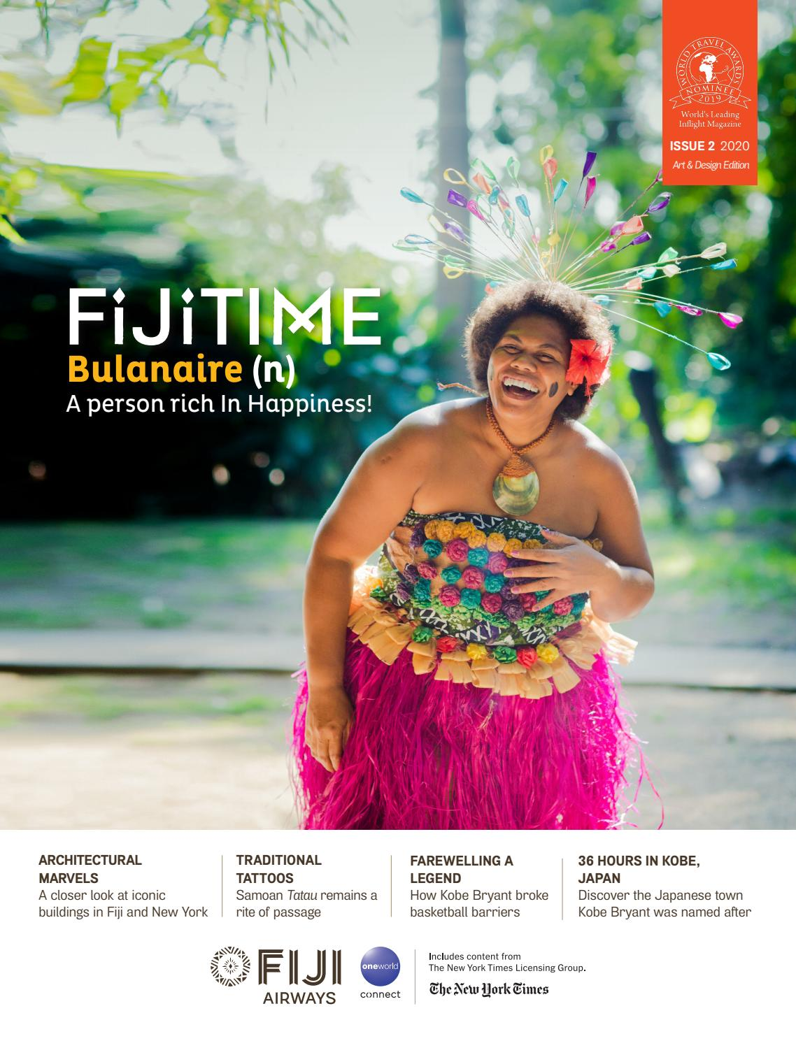 Fijitime March April 2020 Edition Arts Design Issue By Fijitime Issuu