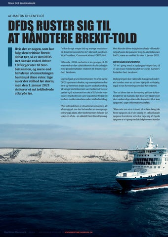 Page 8 of DFDS RUSTER SIG TIL AT HÅNDTERE BREXIT-TOLD