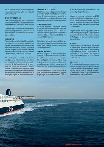 Page 9 of DFDS RUSTER SIG TIL AT HÅNDTERE BREXIT-TOLD