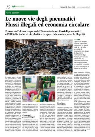 Page 12 of Le nuove vie degli pneumatici. Flussi illegali ed economia circolare