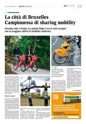 Page 13 of La città di Bruxelles. Campionessa di sharing mobility
