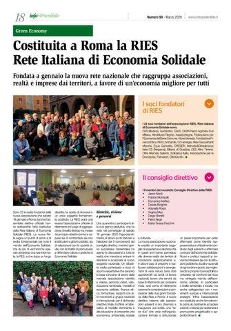 Page 18 of Costituita a Roma la RIES. Rete Italiana di Economia Solidale