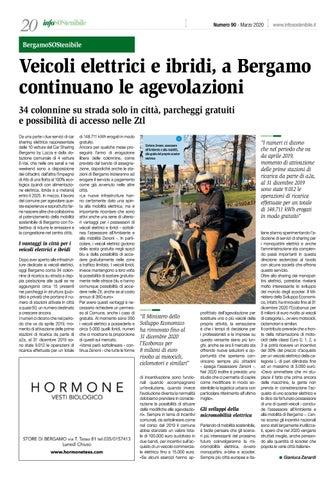 Page 20 of Veicoli elettrici e ibridi, a Bergamo continuano le agevolazioni