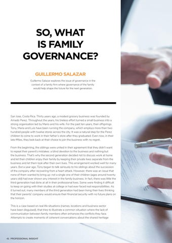 Page 46 of SO, WHAT IS FAMILY GOVERNANCE?