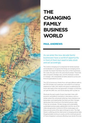 Page 6 of THE CHANGING FAMILY BUSINESS WORLD