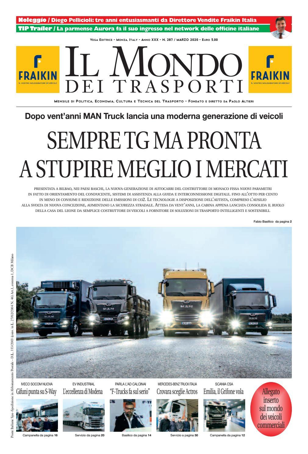 Isola Ecologica San Felice Sul Panaro il mondo dei trasporti - marzo 2020vega editrice - issuu