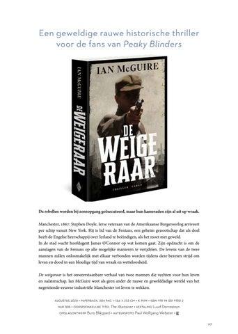 Page 27 of Ian McGuire De weigeraar