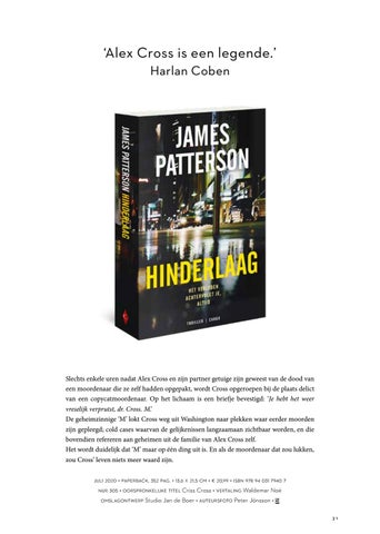 Page 31 of James Patterson Hinderlaag