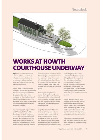 Page 3 of WORKS AT HOWTH COURTHOUSE UNDERWAY