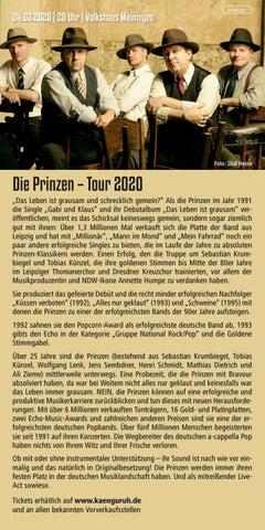 Page 8 of Die Prinzen – Tour 2020