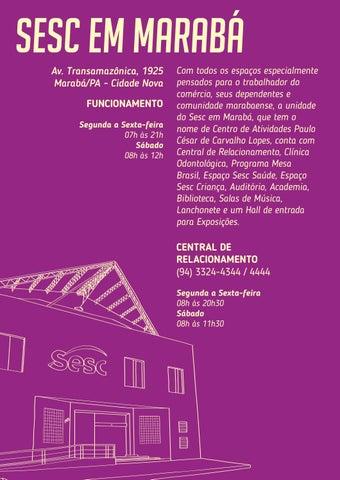 Page 12 of Sesc em Marabá