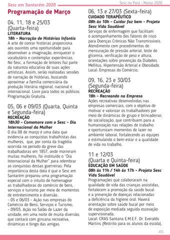 Page 45 of Sesc em Santarém