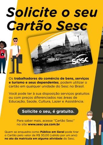 Page 50 of 55 Cartão Sesc: Tire suas dúvidas