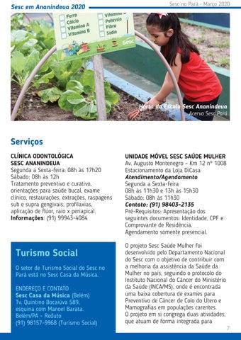 Page 7 of Sesc em Ananindeua