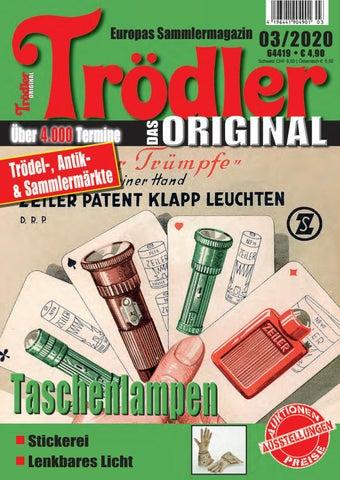 Trodler 03 2020 By Gemi Verlags Gmbh Issuu