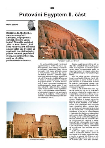 Page 30 of Putování Egyptem