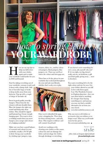 Page 13 of Anita Feron Clark's wardrobe spring clean