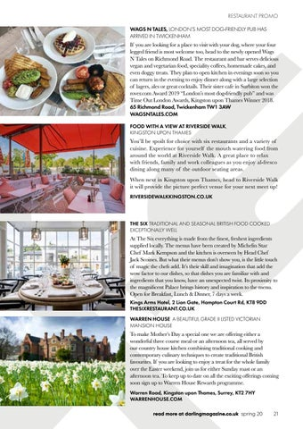 Page 21 of Our picks for local dining, lunching and afternoon tea
