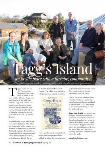 Page 22 of Tagg's Island creative community