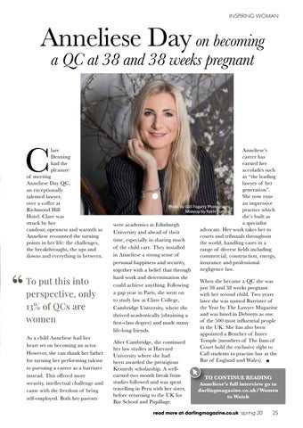Page 25 of An Interview with Anneliese Day QC
