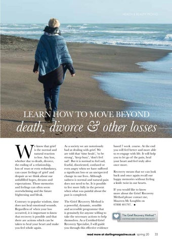 Page 33 of The Grief Recovery Method can help you move on