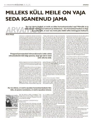 Page 26 of ARVAMUS Neeme Näripä