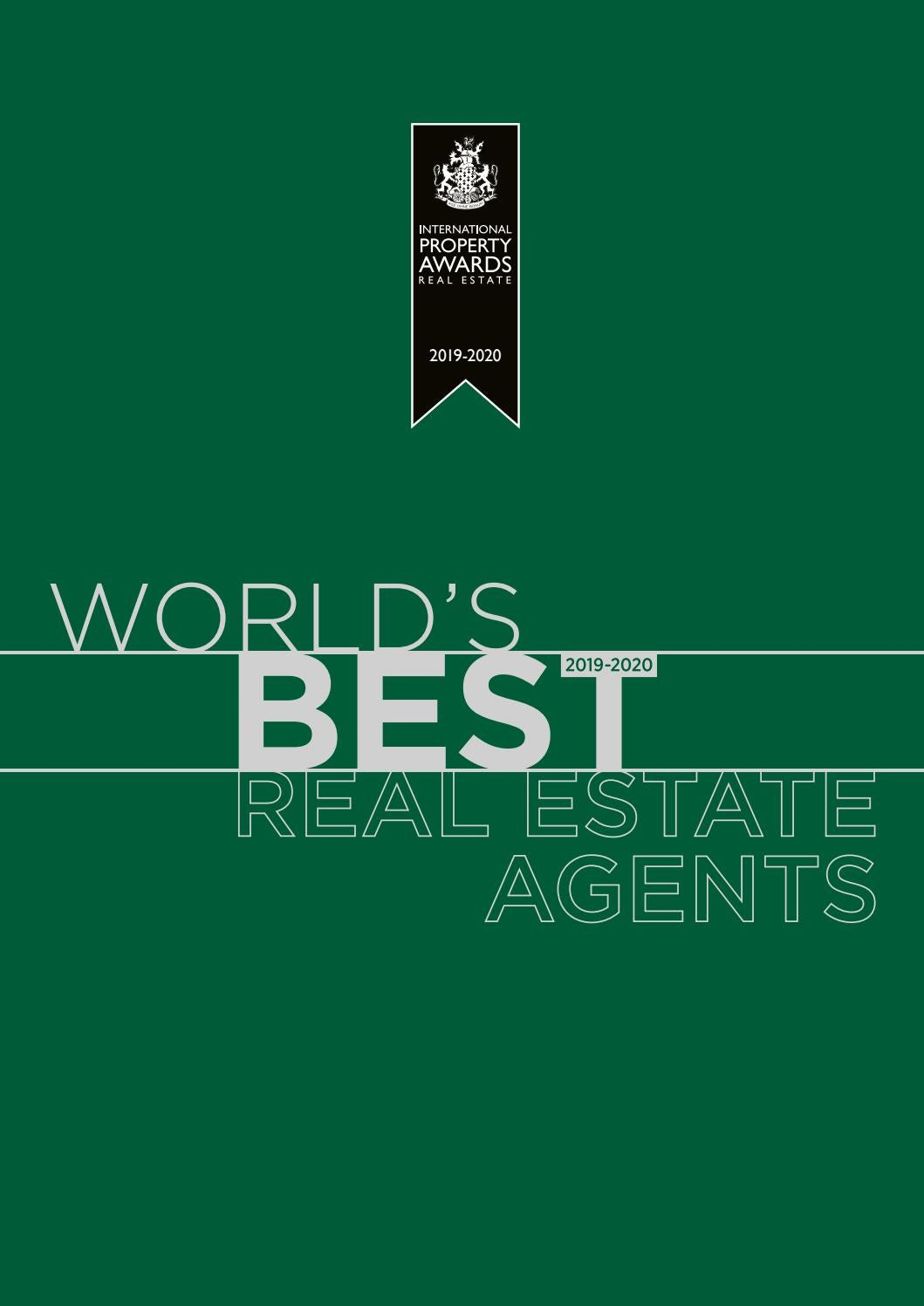 World's Best Real Estate Agents 2019-2020 by International Property Media -  issuu