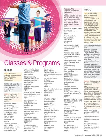 Page 19 of Classes and Programs