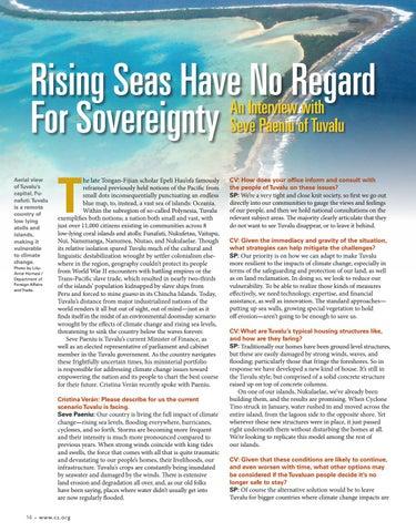 Page 16 of R ising Seas Have No Regard